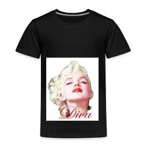 Marilyn Diva - Toddler Premium T-Shirt