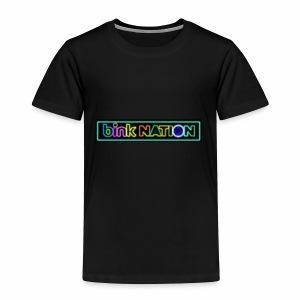 Bink Nation Neon Logo Jacket - Toddler Premium T-Shirt