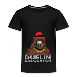 Duelin Sasquatch - Toddler Premium T-Shirt