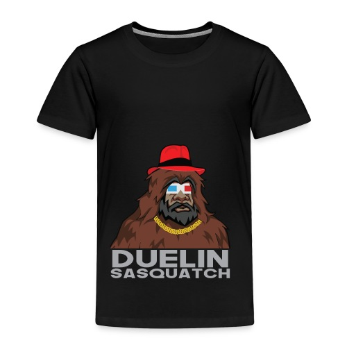 Duelin Sasquatch - Toddler Premium T-Shirt