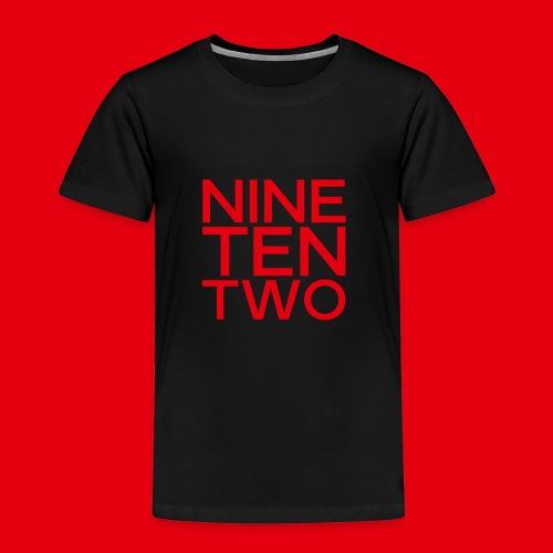 Red NineTenTwo Logo Text - Toddler Premium T-Shirt