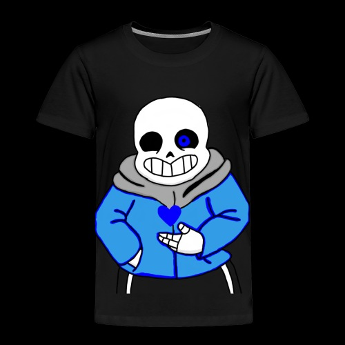 "Undertale San ""ReDraw"" - Toddler Premium T-Shirt"