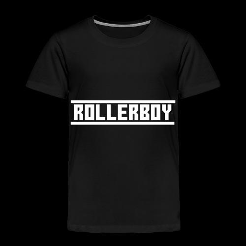 Exclusive ROLLERBOY NAME LABLEh - Toddler Premium T-Shirt