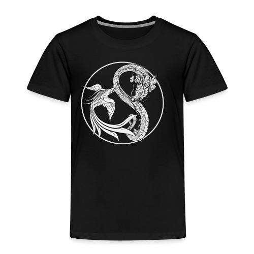 Phoenix vs Dragon Yin Yang - Toddler Premium T-Shirt