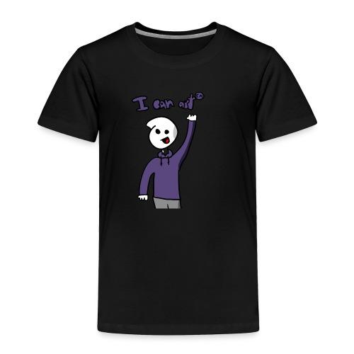 I Can Art ™ - Toddler Premium T-Shirt
