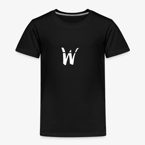 W White Design - Toddler Premium T-Shirt