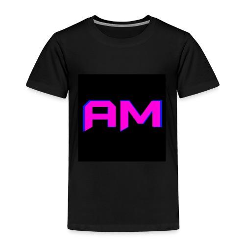 Pink, Blue, and black LOGO - Toddler Premium T-Shirt