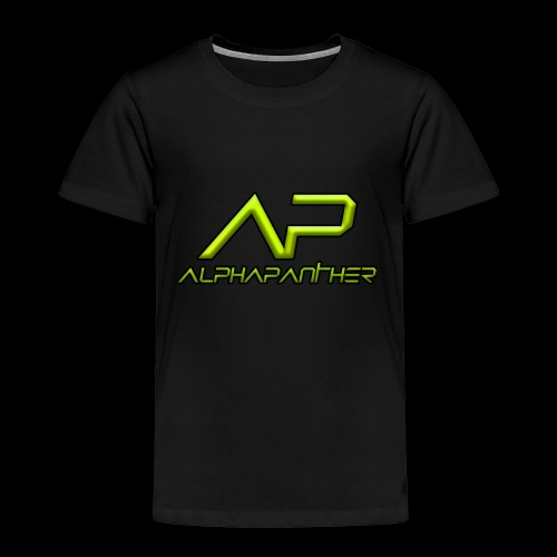 AlphaPanther - Toddler Premium T-Shirt
