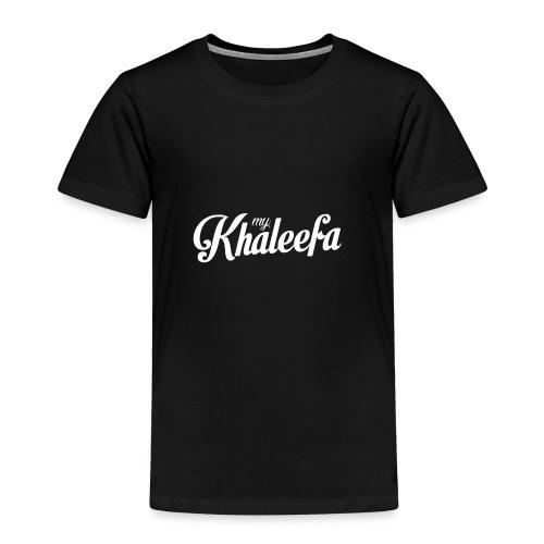 My Khaleefa Apparel - Toddler Premium T-Shirt