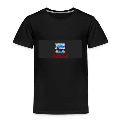 ItzRollie black, blue, and red. - Toddler Premium T-Shirt
