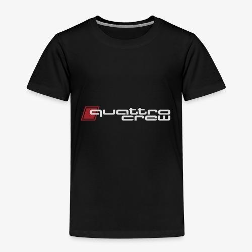 Quattro Crew - Light logo - Toddler Premium T-Shirt