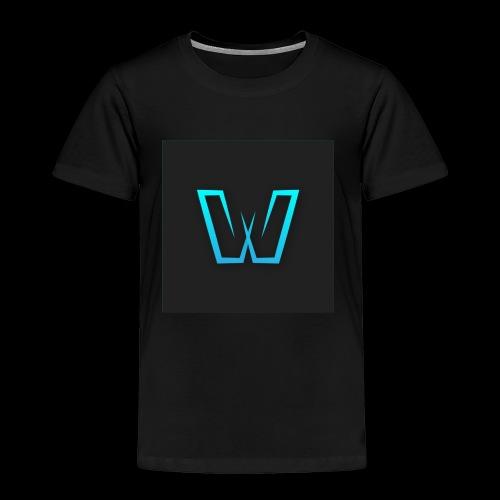 DoubleU Black Non-Transparent - Toddler Premium T-Shirt