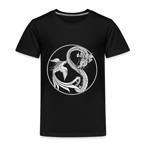Phoenix vs Dragon Yin Yang - Toddler Premium T-Shirt