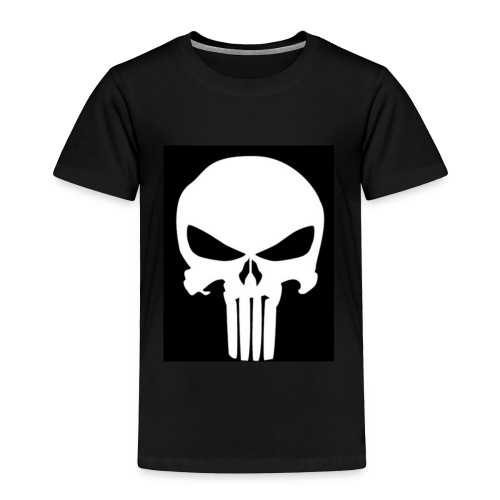 Gunshot skull - Toddler Premium T-Shirt