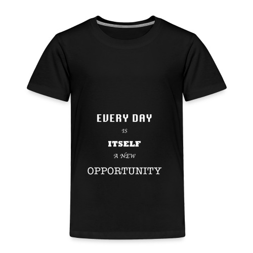 Opportunity (in White) - Toddler Premium T-Shirt
