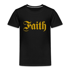 Golden Faith - Toddler Premium T-Shirt