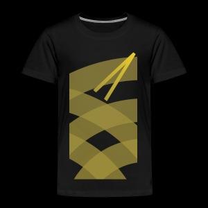 Rising Break The Cycle Gold fury - Toddler Premium T-Shirt