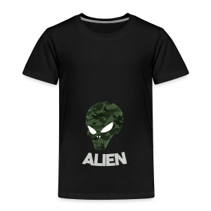 Military Alien - Toddler Premium T-Shirt