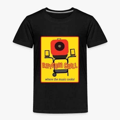 Rhythm Grill patch logo - Toddler Premium T-Shirt