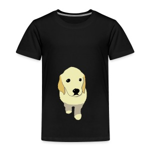 Golden Retriever puppy - Toddler Premium T-Shirt