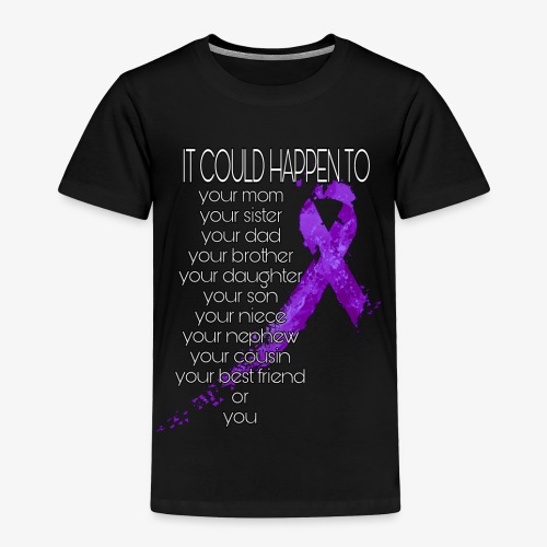 Domestic Abuse Awareness - Toddler Premium T-Shirt