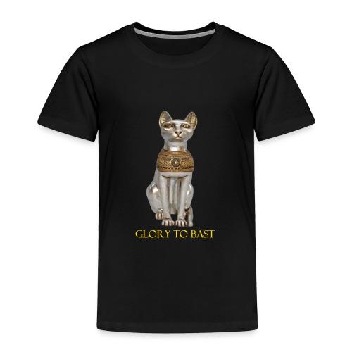 Glory to Bast - Toddler Premium T-Shirt