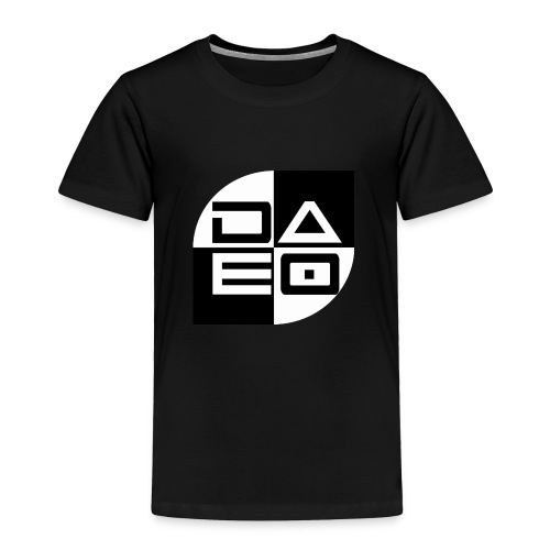 DAE0 logo with pointed edges - Toddler Premium T-Shirt