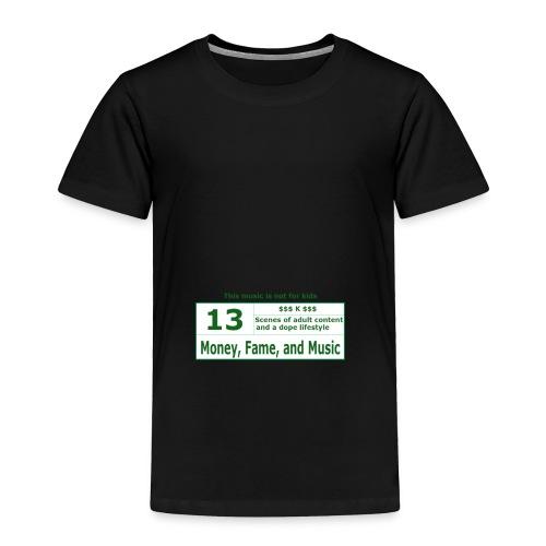 13 K Band - Toddler Premium T-Shirt