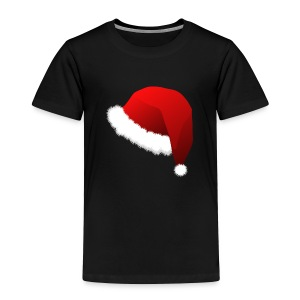 Carmaa Santa Hat Christmas Apparel - Toddler Premium T-Shirt