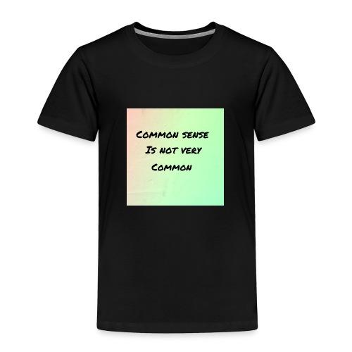 Uncommon sense - Toddler Premium T-Shirt