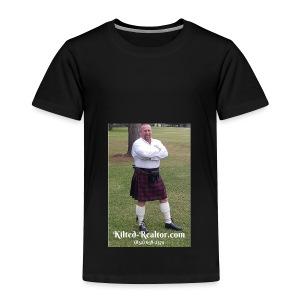 Kilted Realtor - Toddler Premium T-Shirt