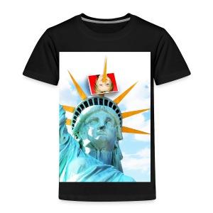 Lady Liberty Spikes Hillary - Toddler Premium T-Shirt