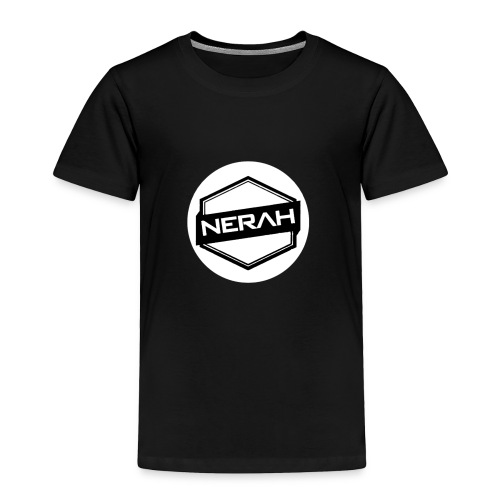 White Nerah Logo - Toddler Premium T-Shirt