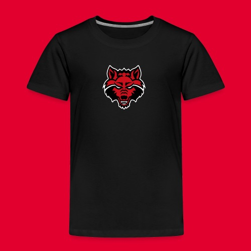 Red Wolf - Toddler Premium T-Shirt