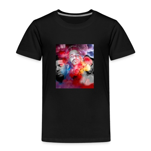 Black T-Shirt Drake Kendrick J.Cole - Toddler Premium T-Shirt