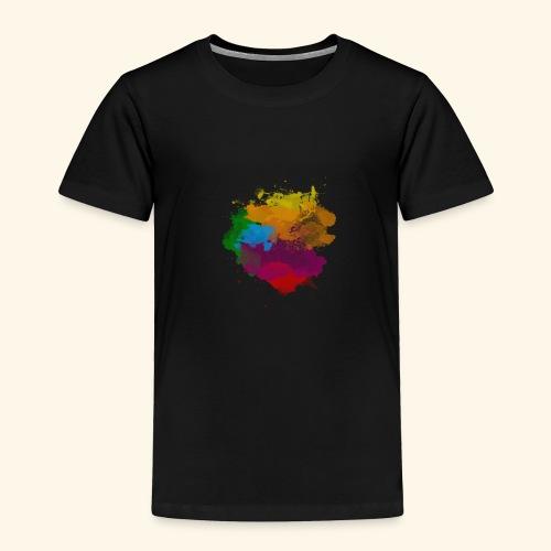 Simply a Splash of Colour - Toddler Premium T-Shirt