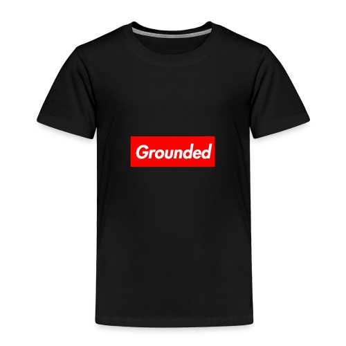 Grounded Box Logo - Toddler Premium T-Shirt