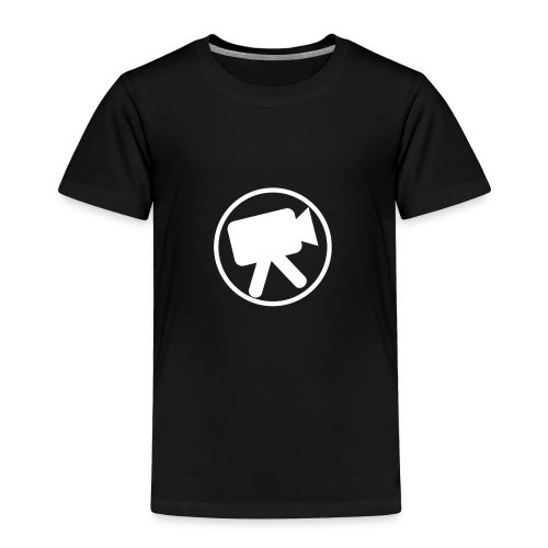 logo_wit_videotijd - Toddler Premium T-Shirt