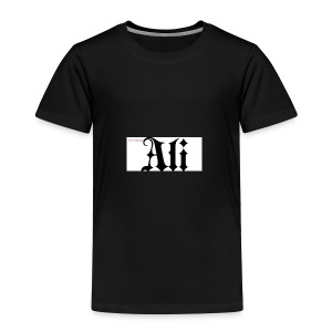 ali name design6 - Toddler Premium T-Shirt