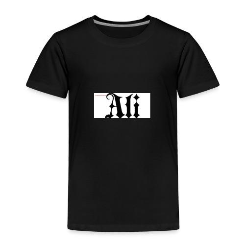 ali name design6 - Toddler Premium T-Shirt