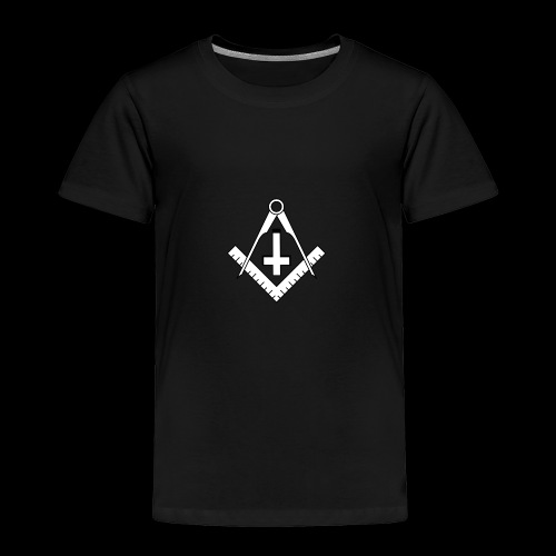 FreemasonCrossBlack - Toddler Premium T-Shirt
