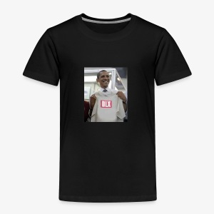 DELUXE -DLX LIMITED EDITION Obama DLX Box Logo - Toddler Premium T-Shirt