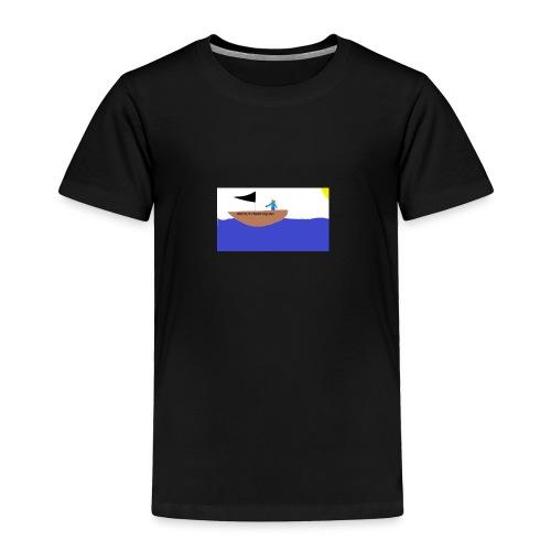 TRASHY BOAT V2 - Toddler Premium T-Shirt