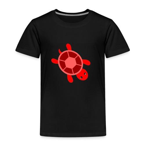 CrazyLittleRedTurtle! - Toddler Premium T-Shirt