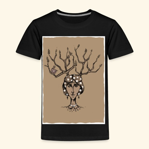 The Tree Girl - Toddler Premium T-Shirt