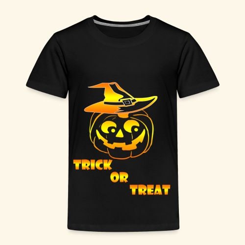 Halloween Trick or treat - Toddler Premium T-Shirt