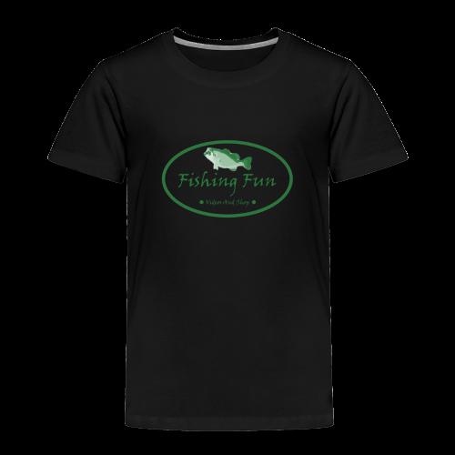 Fishing Fun Logo - Toddler Premium T-Shirt