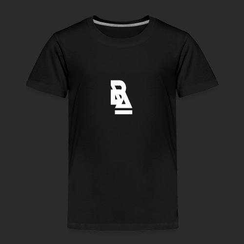 White Official BlizzardArtz Logo - Toddler Premium T-Shirt