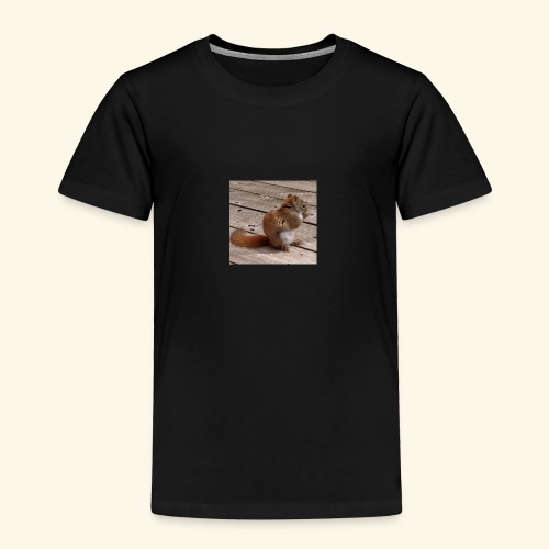 Red Squirrel - Toddler Premium T-Shirt