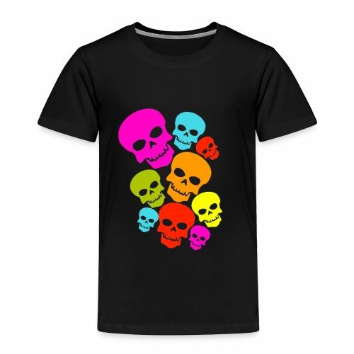 Happy Skull - Toddler Premium T-Shirt